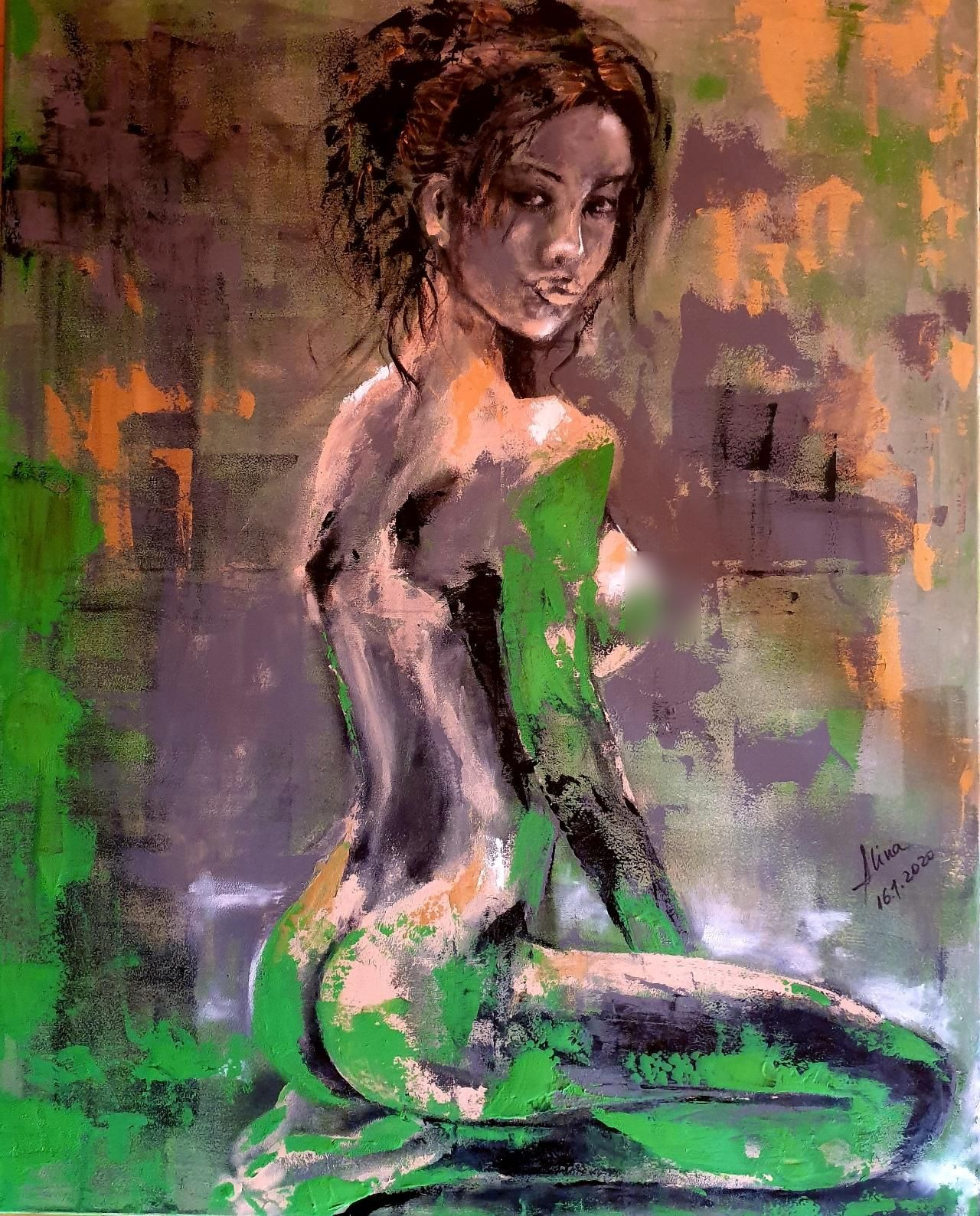 ArteDiAlina.com painting: Demetra