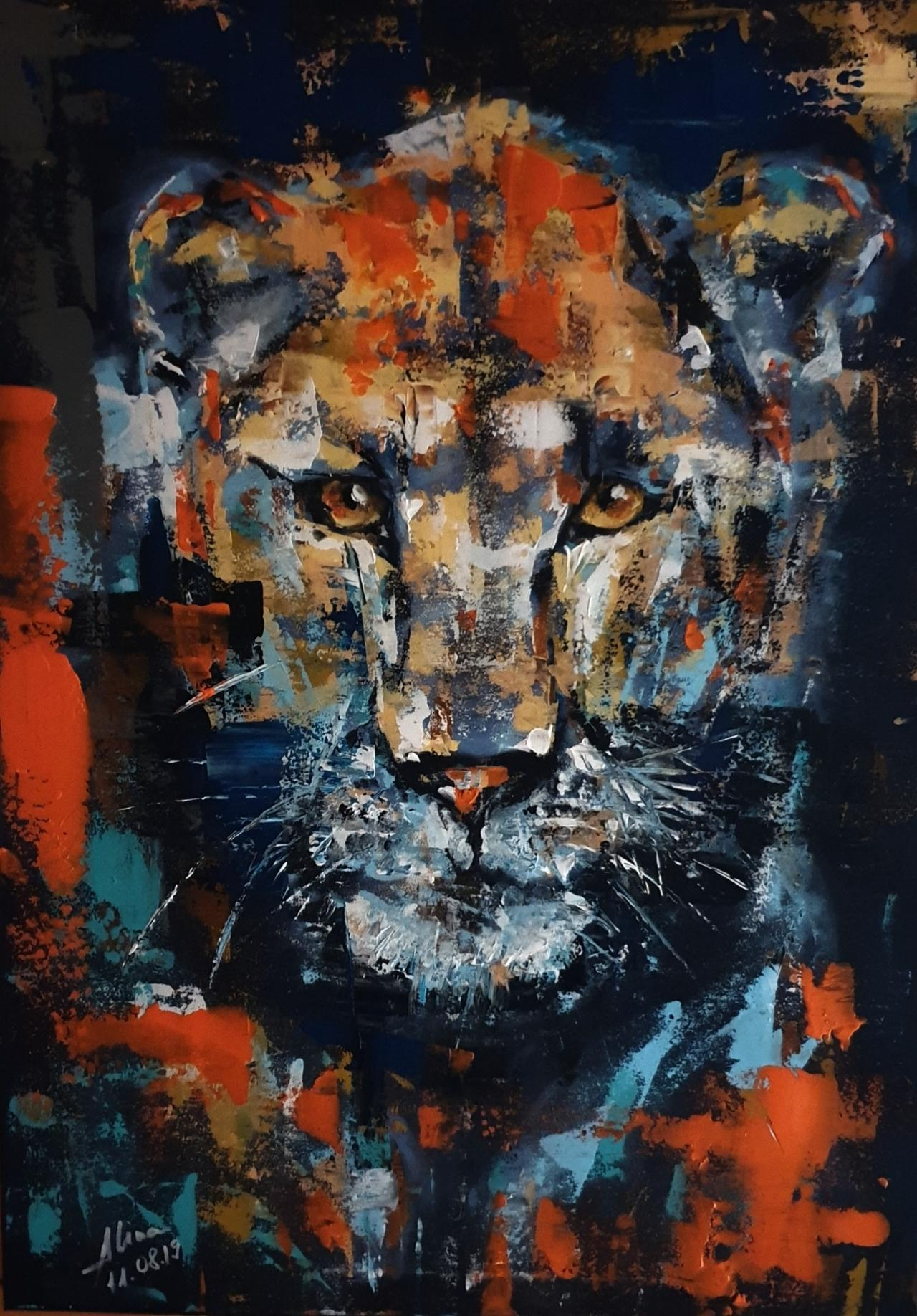 ArteDiAlina.com painting: what is a King without a Queen? ....
